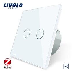 Livolo Wifi Wireless Intelligence Wall Switches Remote Control Via APP Work ZigBee Switch ,Only work with Livolo gateway