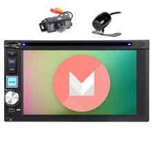 Eincar Android 6.0 Стерео DVD CD-плееры 2din GPS навигации Авторадио головного устройства HD емкостный Экран Wi-Fi/спереди и резервного копирования камера