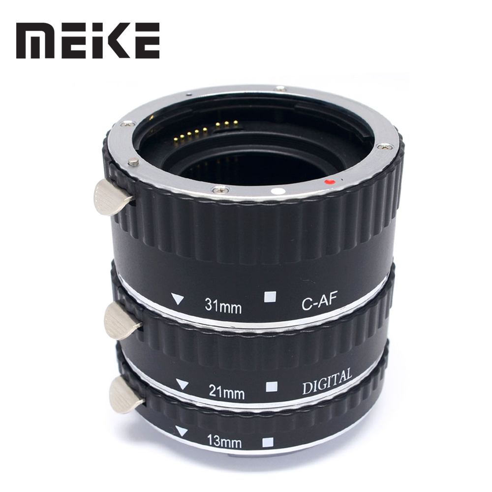 Meike Metal Auto Focus AF Macro Extension Tube for Canon 80D 70D 7D 550D 30d 60D 6D 600D 6DII 5DII 5DIII 7DII  T5i T4i T3i T2i