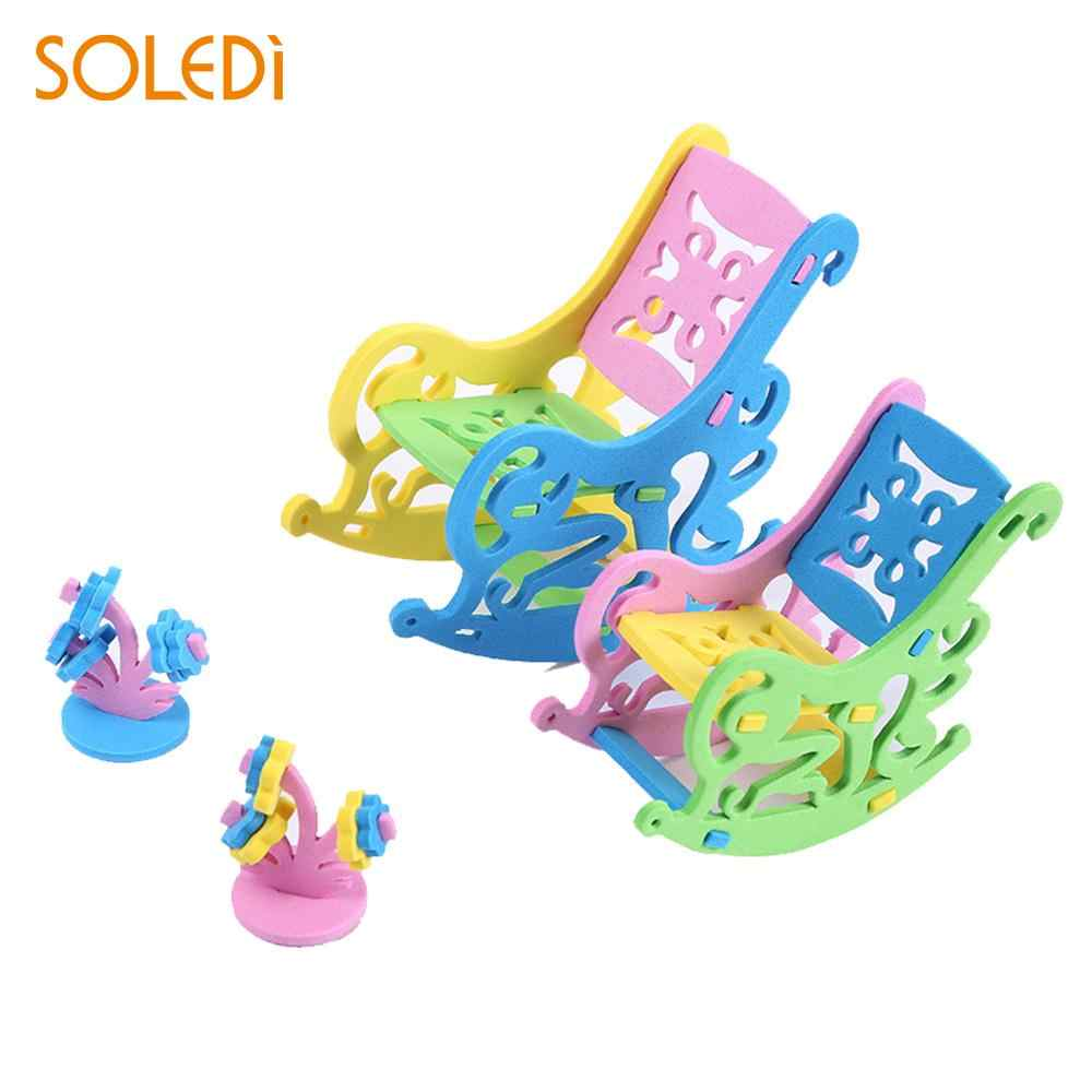 Surprising Soledi 3D Model Puzzles Parent Child Activities Eva Cute Desk Top Model Building Kits Children School Early Educational Toys Beutiful Home Inspiration Ommitmahrainfo
