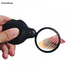 New 3 LED Light 8X Handheld Magnifier Reading Magnifying Glass Lens Jewelry Loupe цена