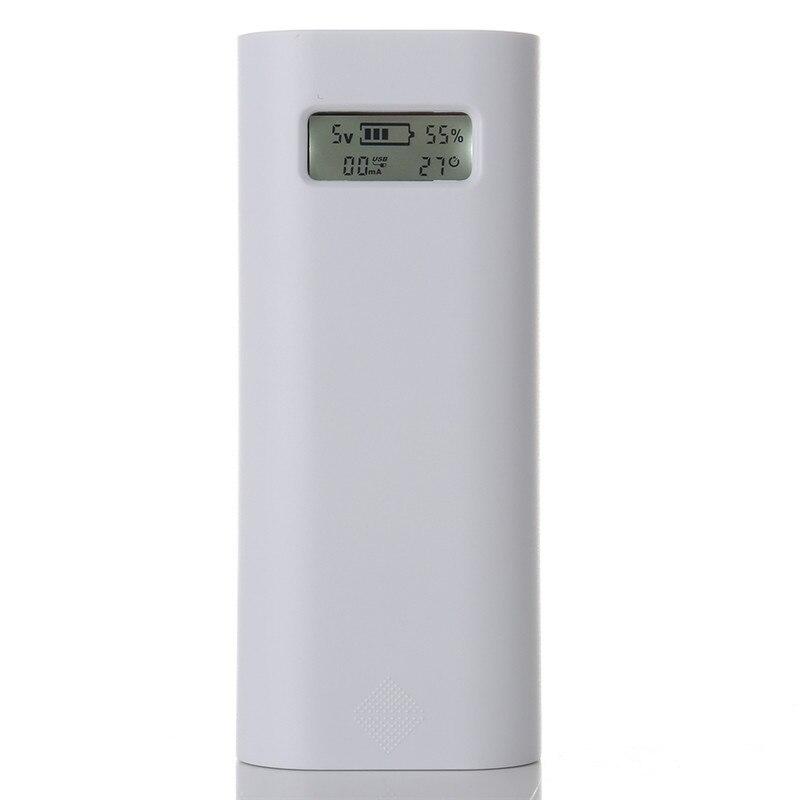 Soshine e4s caja display power bank 18650 cargador de batería inteligente portát