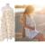 Moda Simple Gasa de Algodón Posparto Lactancia Toalla Anti Vaciado Hoja de Parra Ropa Alimentación ATRQ0497