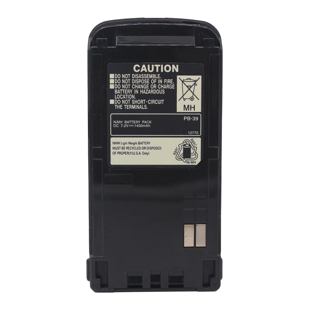 PB-39 PB-39H PB-38 1400mAh Ni-Mh Battery For KENWOOD Radio TH-D7 TH-D7A TH-D7E TH-G71 TH-G71A TH-G71E With Belt Clip