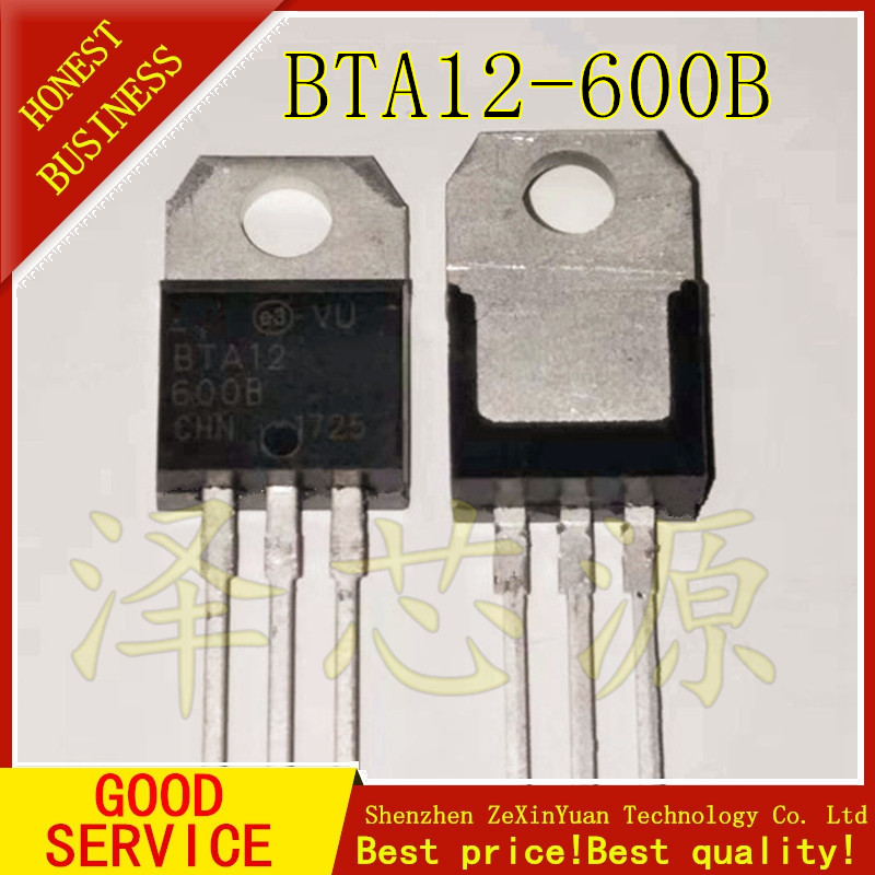 600V TO-220AB BTA12-600B                                           TRIAC
