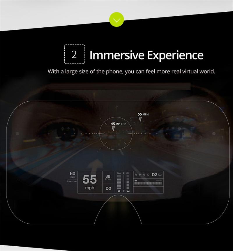Original VR shinecon 6.0 headset version virtual reality glasses 3D glasses headset helmets smart phones Full package+GamePad 18