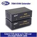 Extensor kvm ckl usb com hub usb teclado e mouse com fio de transmissão de sinal de vídeo de até 70 m (230 pés) ckl-480aup