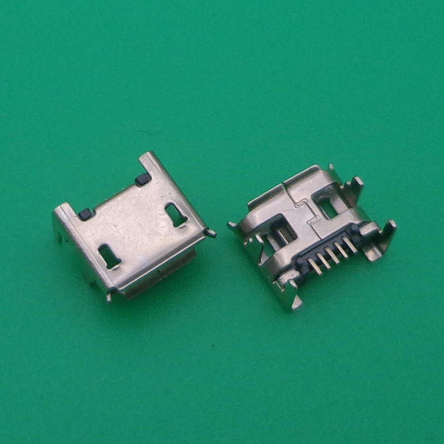 1000pcs/lot For ACER ICONIA TAB A100 Tablet /Lenovo IdeaPad Tablet a2107 Micro USB Jack Connector charging port socket 5pin