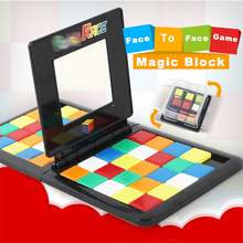 Magic Block Cubes Game Race Cube Board Game Kids Adults Education Toy Parent-child Activity Funny Family Party Birthday Gift cube ltd race 2013