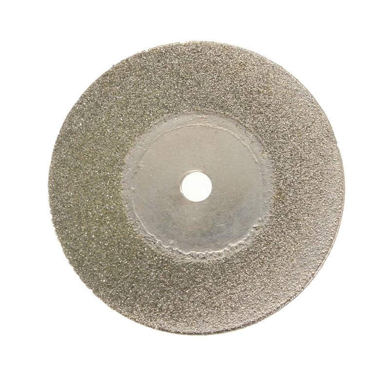 10vnt. / Rinkinys 30mm sidabro pjovimo disko su mažais deimantiniais - Ašmenys pjūklams - Nuotrauka 4