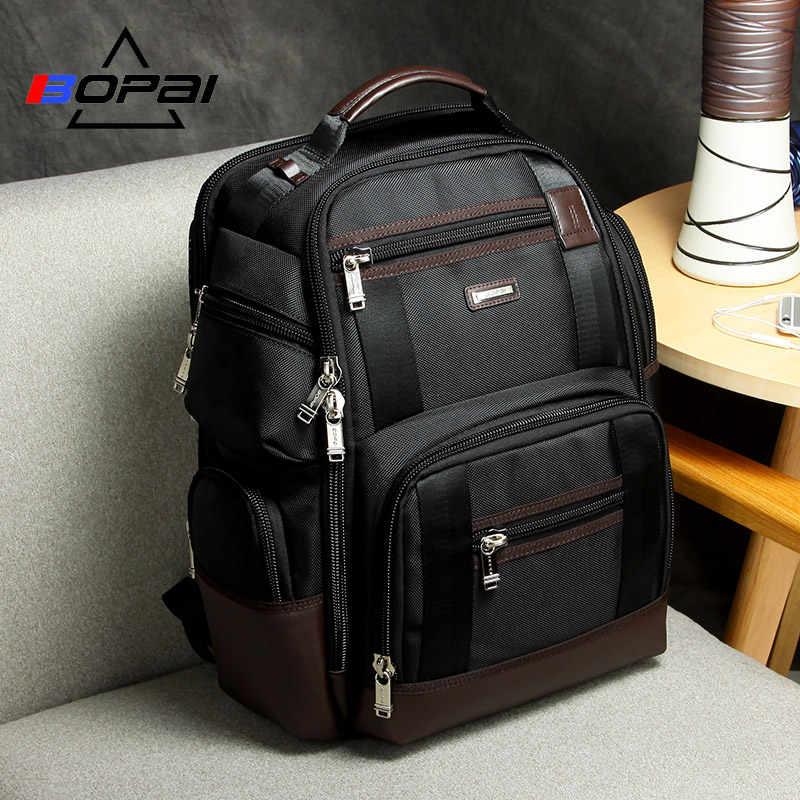 Мужской дорожный рюкзак с карманами, черный вместительный деловой рюкзак для поездок, 2019