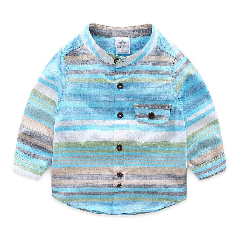 2-9 10 Years Boys Long Sleeve Shirt 2018