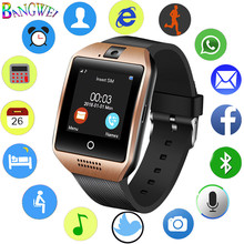 BANGWEI 2018 Good Watch Reloj Relogio 2G GSM SIM Software Sync Mp3 for Xiaomi Android Cellphone Males's Sports activities Reloj inteligente
