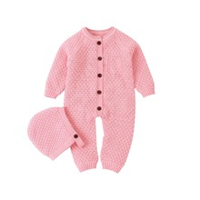 Baby Rompers Long Sleeve Jumpsuits Clothes 0-18M