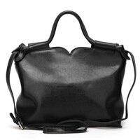 Vintage Genuine Leather Women Handbag Big Tote Bag Ladies Shoulder Crossbody Bags Womans Purse High Quality