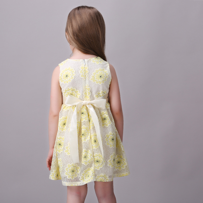 American princess yellow dress