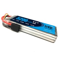 2017 DXF 11.1V 5200MAH 35C Lipo Battery 3S MAX 60C TRX/XT60 LiPo RC Battery For Rc Helicopter Car Boat drone truck quadcopter