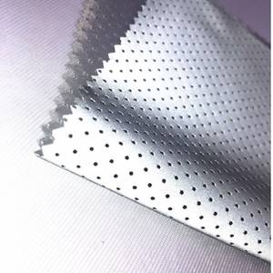 Garment-Accessories Fabric Reflective Warning EN471 Chemical-Cloth Punched-Hole High-Visibility