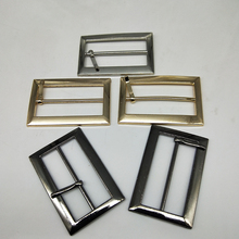 Metal Square belt buckles for shoes bag garment decoration 4 cm 3 colors Belt Buckles DIY Accessory Sewing 10 pcs/lot