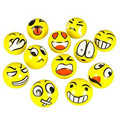 12pcs/set Emoji Faces Squeeze Stress Ball Hand Wrist Finger Exercise Stress Relief Therapy -random Styles gift toys