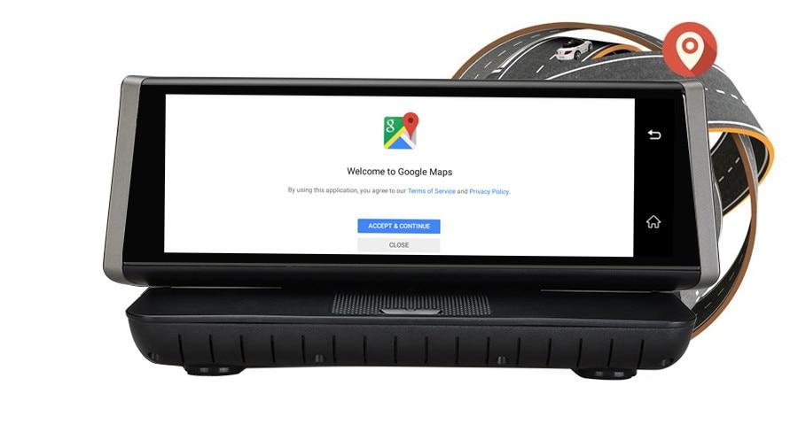 GUBANG 8Touch 4G Wifi Android GPS Full HD 1080P Video Recorder Dual Lens Registrar Dash Cam ROM 16GB ADAS Car DVR Camera