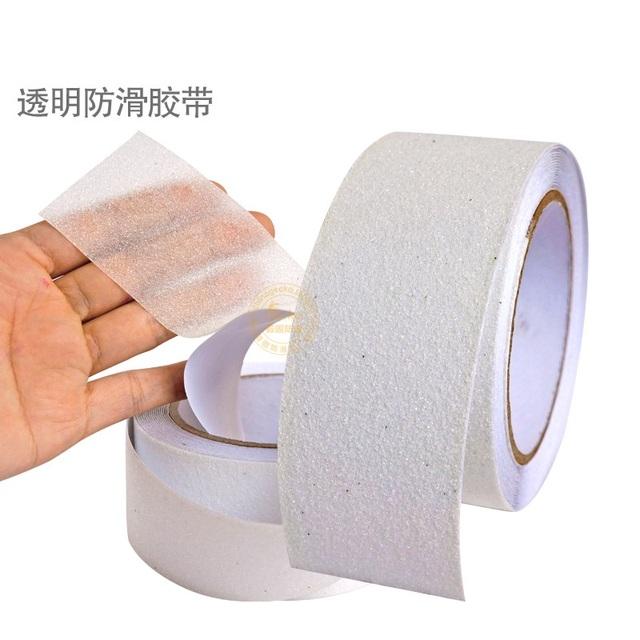 50mm x 5 m À Prova D' Água Fita Adesiva Transparente Fita Anti Slip Non Skid Etiqueta Para Banheiro Piso Da Escada cozinha Clara