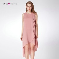 New Arrival Cocktail Dresses Ever Pretty AS04042 Women S Pink Sleeveless Cheap Modern Party Dresses Lotus