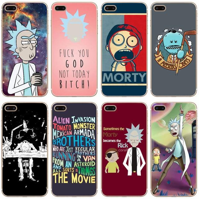 coque rick et morty iphone 7 plus