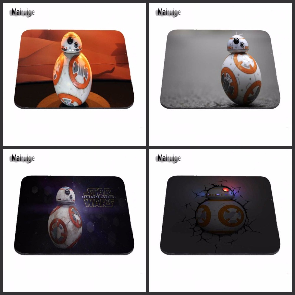 Star Wars BB8 Rubber Soft Anti-Slip Laptop PC Mice New High Quality Large Rubber Speed Game Mousepad18*22cm /25*29cm Or 25*20cm image