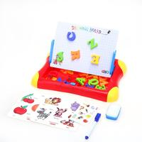 Bebé niños dibujo de juguete alfabeto colorido magnético Pizarras para dibujar Sketch Pad Doodle escritura pintura juguete niños Aprendizaje Temprano Juguetes