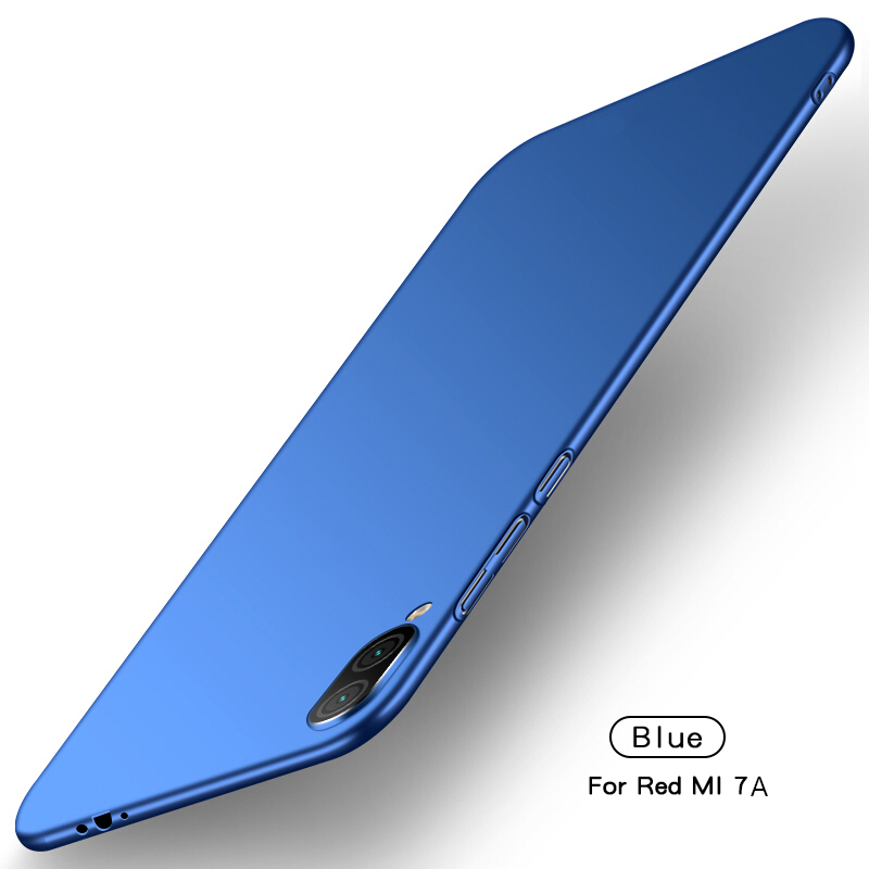 Xiaomi Redmi 7A Case Ultra Silm PC Shell Luxury Smooth Hard back Phone Bumper Xiaomi Redmi 7A Thin Cover Xiaomi Redmi 7A Fundas in Fitted Cases from Cellphones Telecommunications