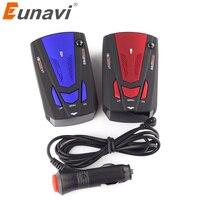 Eunavi車車両レーダー探知360度アンチ車の検出器v7速度音声アラート警告16バンド