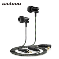 CBAOOO HF800 Earphones In Ear Earphone Ceramic HiFi Subwoofer Earbuds HD Stereo Bass Earphone IE800 Hot