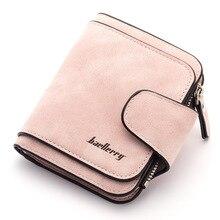 Купить с кэшбэком Retro PU Leather Women Wallets Coin Purse Clutch Short Organier Design Card Holder Female Hasp Bag High Quality Wallet For Women