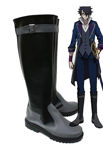 K RETURN OF KINGS Anime Fushimi Saruhiko Cosplay Shoes Boots Custom Made