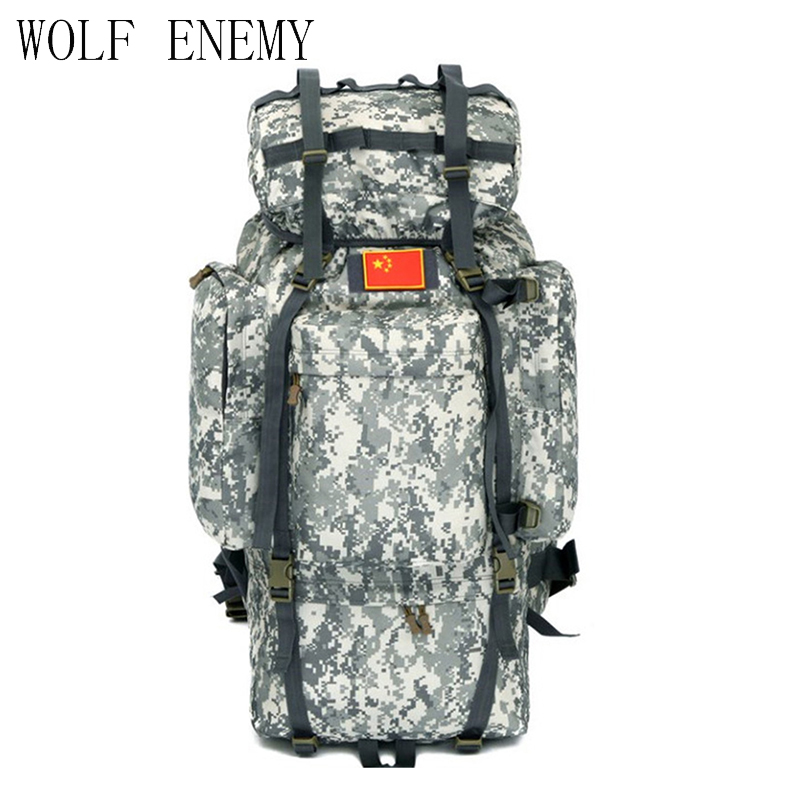 Outdoor 100L Large Capacity Tactical Climbing Backpacks Waterproof Nylon Travel Sport Hiking Climbing Camping Bags Men Mochila 50l military tactical backpack waterproof 600d nylon rucksacks outdoor travel camping hiking sport military backpacks bags