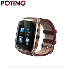 POTINO  X01S Android Smartwatch Phone Bluetooth Smart Watch 1.3GHz Dual Core IP67 GPS Watch Cam 8GB ROM Heart Rate 3G WiFi Watch