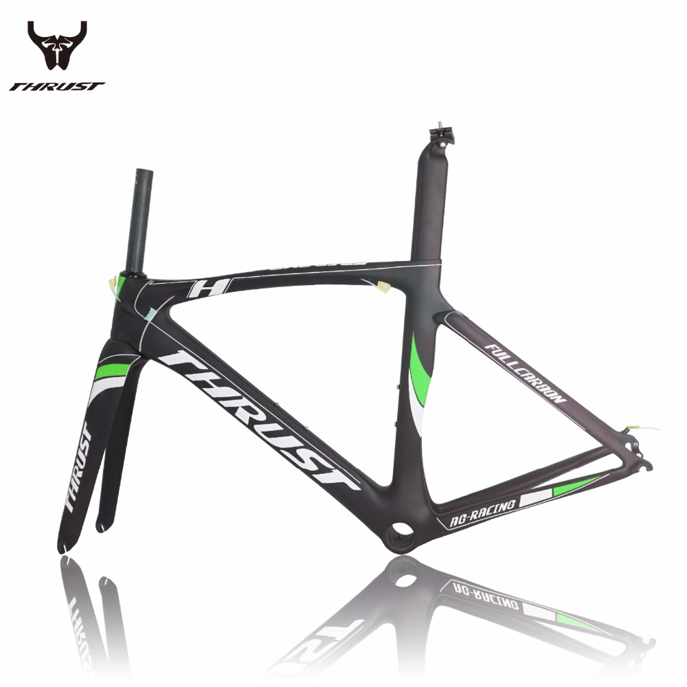aliexpresscom buy 2016 hot sale carbon road bicycle frame bicycle parts carbon road bike frame thrust ag racing from reliable carbon road bike frame