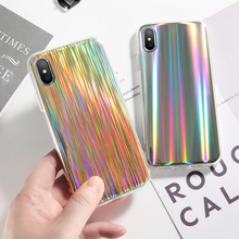 DOEES Cool Laser Colorful Mobile Phone Housings For iphone 7