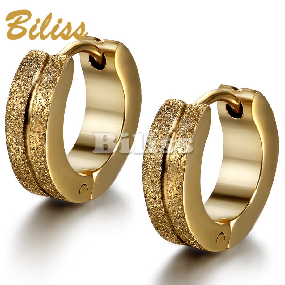diamond cut satin solid polished s yellow hoop round small earrings matte itm gold