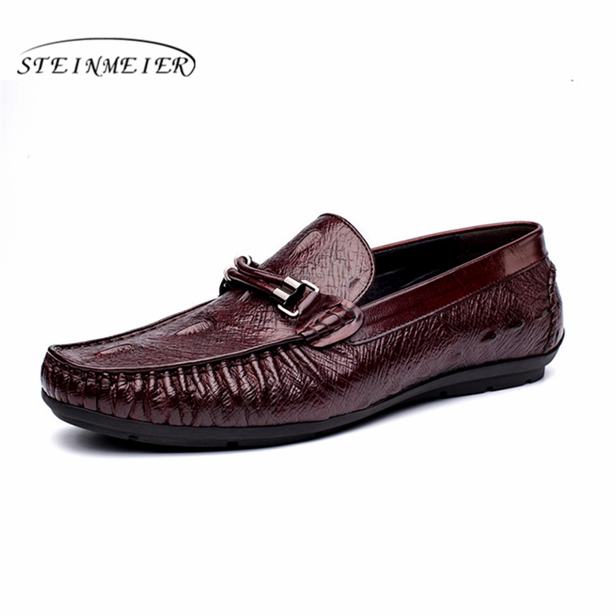 Genuine cow leather brogue Wedding shoes mens peas casual flats shoes vintage handmade sneaker oxford shoes for men black red new woodworking pocket hole locate punch jig kit step drilling bit wood tools set free shipping