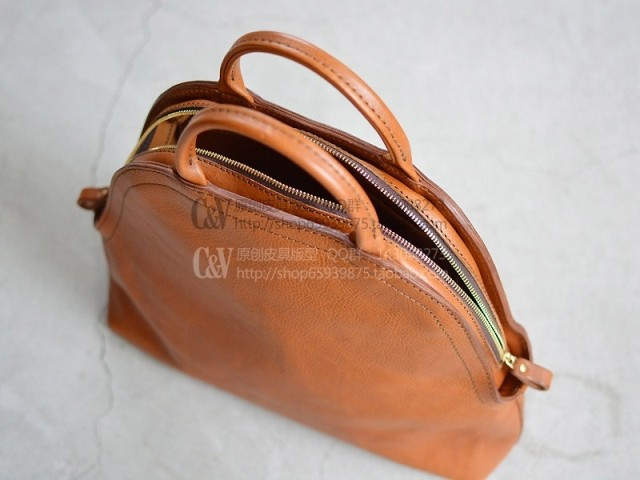 B 5028 DIY handmade leather shell bag tanned leather tote bag handbag pattern in Cutting from Home Garden