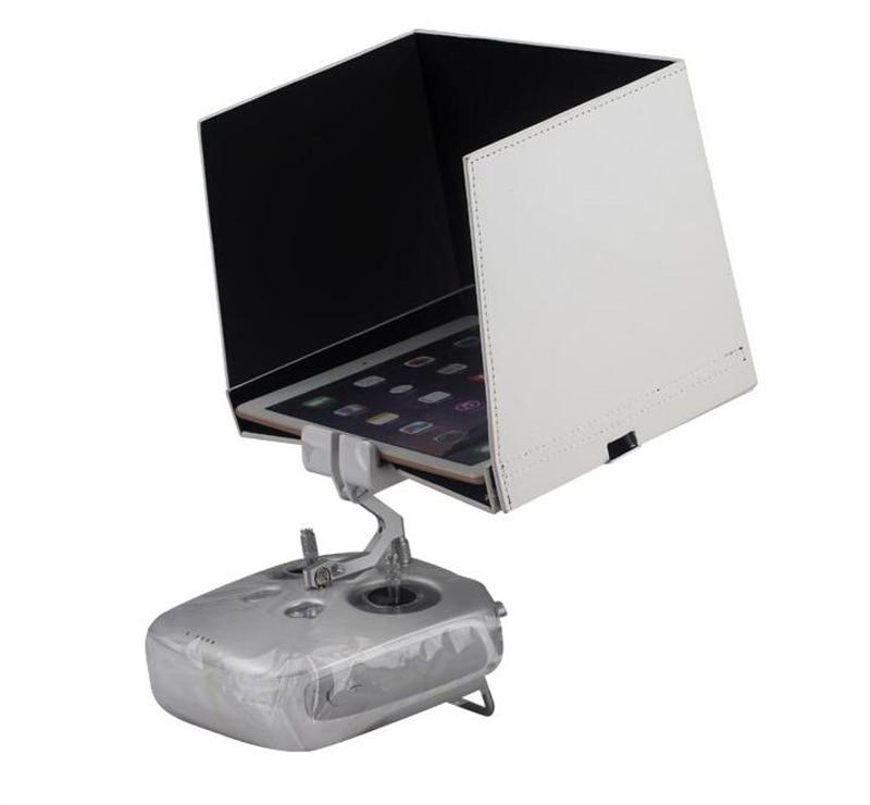 5.5 inch 7.9inch Remote Control Screen Sunshade Mobile Phone Tablet Sun Hood Shade Sun Visor 4pcs set smoke sun rain visor vent window deflector shield guard shade for hyundai tucson 2016