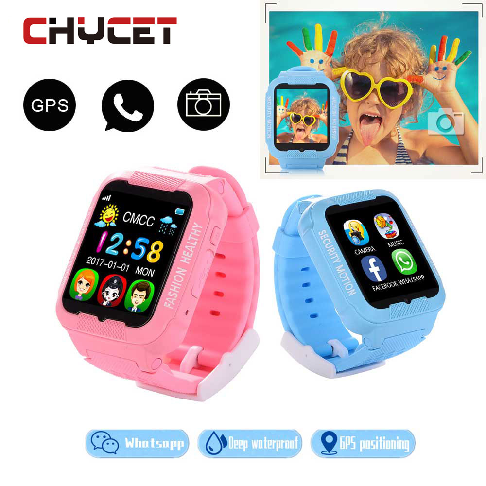 Hot Waterproof Kids K3 children Smart  Watch GPS AGPS LBS Safe Anti-Lost Smartwatch with Camera SIM Call Location Device Tracker hot anti drowning bracelet rescue device floating wristband wearable swimming safe device water aid lifesaving for adult kids