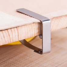 4Pcs Stainless Steel Tablecloth Clip Table Cloth Clamps Holder for Party Wedding Clips Adjust To Suit The Thickness of Table
