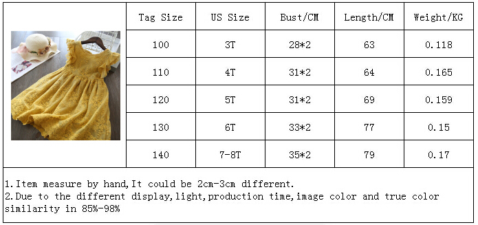 Girls Dress 2019 New Summer Brand Girls Clothes Lace And Flower Design Baby Girls Dress Kids Dresses For Girls Casual Wear 3 8 Y