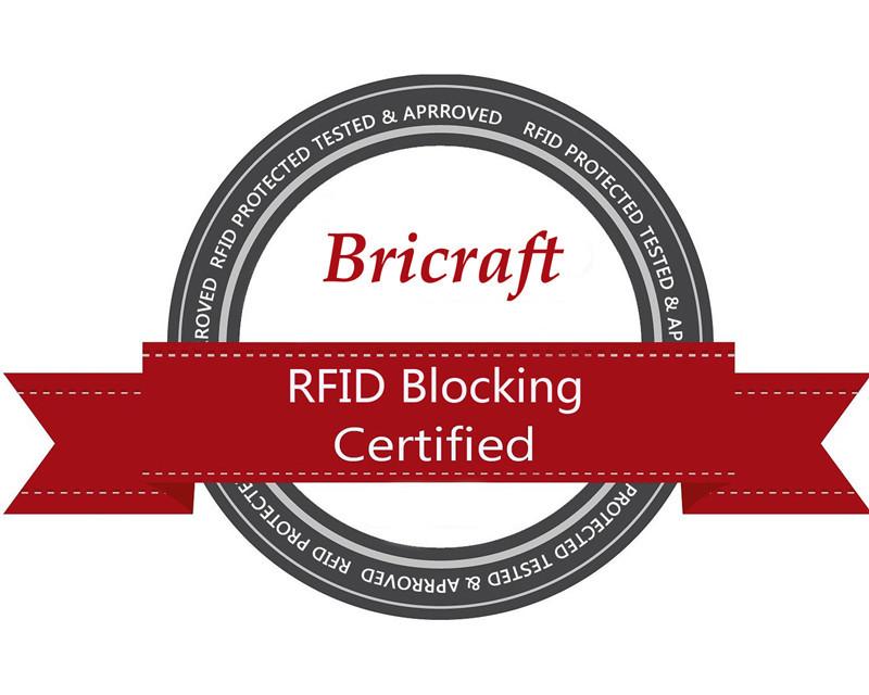 2016 Mens Full Grain Genuine Leather RFID Blocking Wallet Stop Electronic Pick Pocketing 2 Colors Black Brown 11 Card Slots (10)