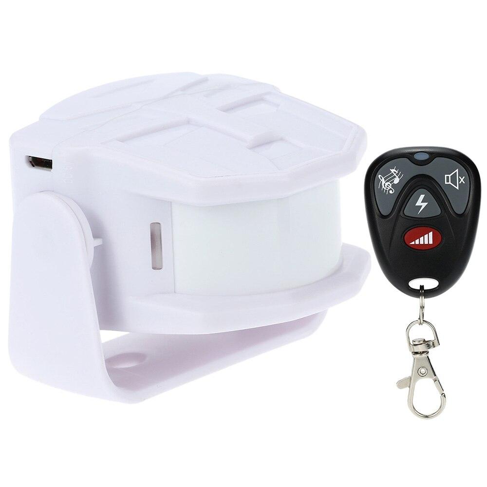 bilder für Wireless Körper Infrarot Thermische Sensor Alarm Fernbedienung 30 mt Willkommen Guest Türklingel Bewegungsmelder Alarm für Home Security