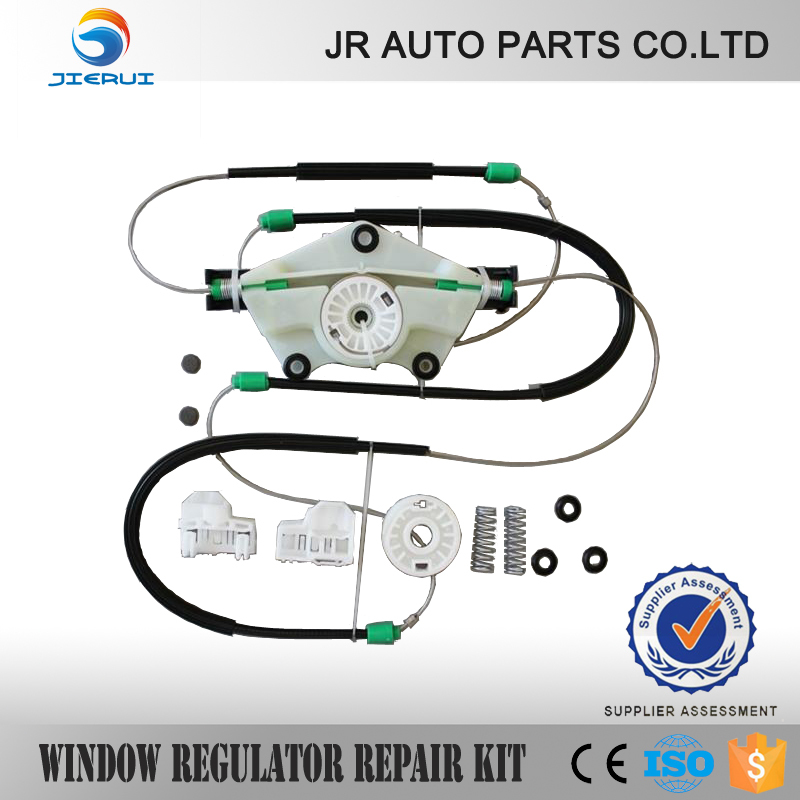 JIERUI  VW PASSAT WINDOW REGULATOR REPAIR KIT FRONT RIGHT    NEW BRAND SET ,ISO9001 FREE SHIPPING