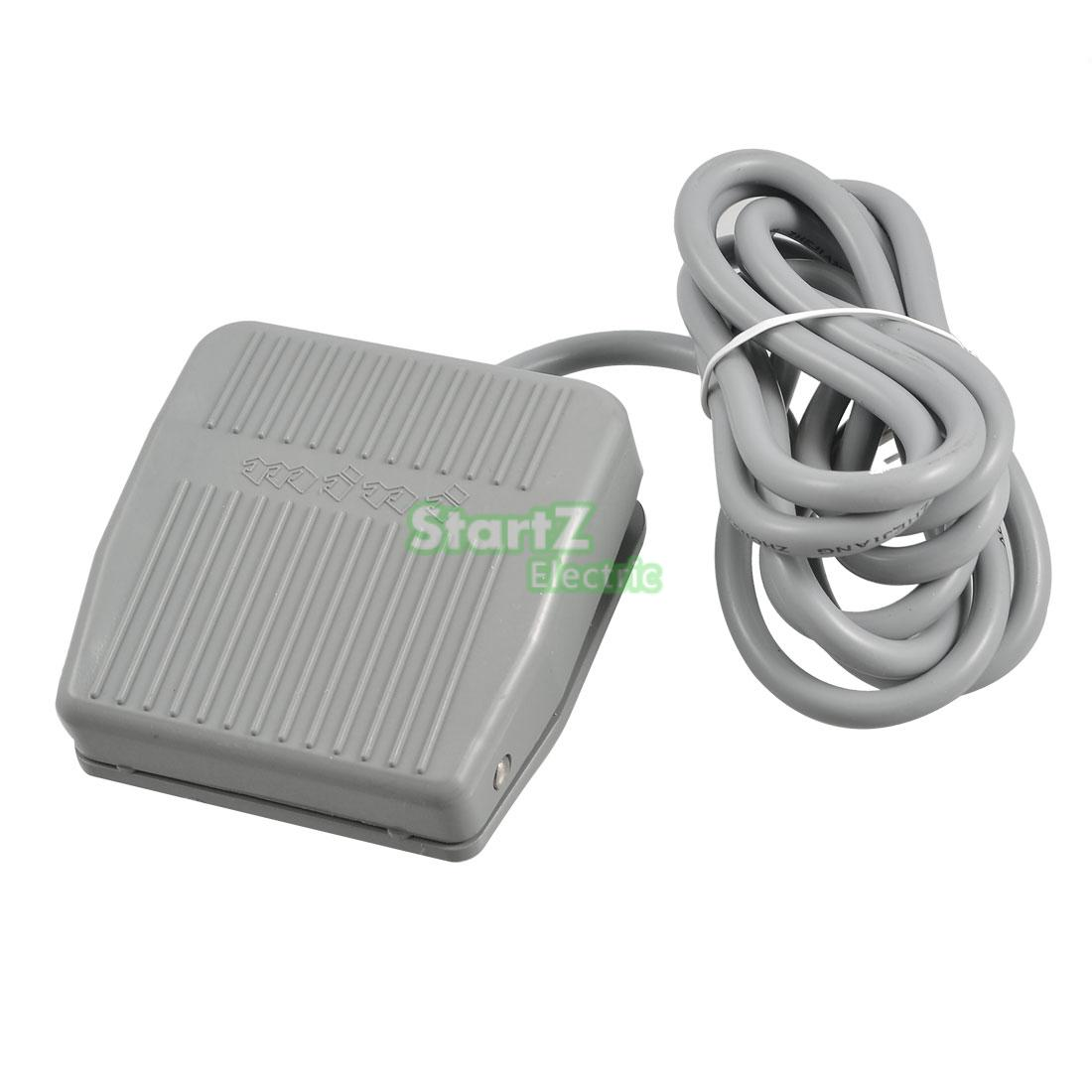10A 250V AC Foot Switch Pedal Switch Electric Foot Pedal On//Off Control with 2m Cable TFS-201 Pedal Switch